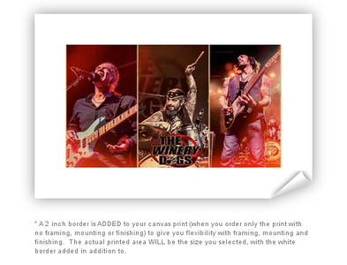 The Winery Dogs Autographed Print Offer