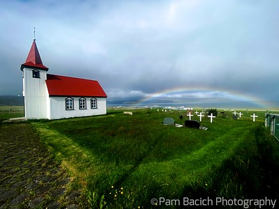 Rainbow in the Westfjords