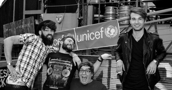 The Wondersmiths rock the boat for UNICEF