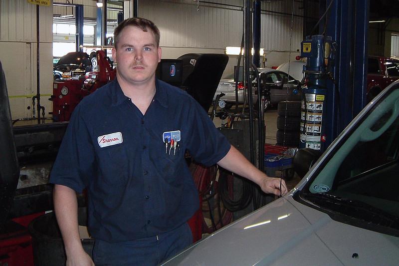 Technician Shannon.