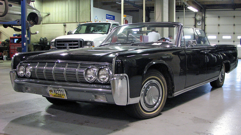 "This story began on a beautiful fall day in 2008.  Mr. Customer lowered the convertible top on his 1964 Lincoln Continental convertible for a parade, but was unable to raise it when he returned home.  The trunk lid would open, but nothing else would occur.  So, Mr. Customer decided not to worry about it, and would get it fixed ""later,"" which turned out to be the sunny, but 30 degree winter morning of January 7, 2009."