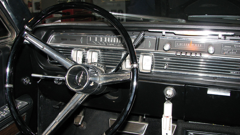 The interior of this car was in great shape and had a mere 71k miles on the odometer.