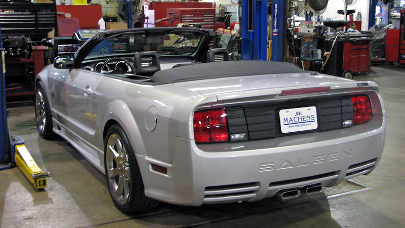 The rear body was also given a unique treatment.