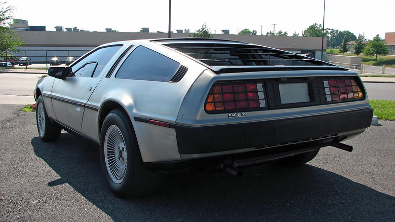 John DeLorean founded the company that bears his name in 1975.  Production of the company's only product, the aptly named DeLorean sports car, began in 1981 and lasted until the end of 1982 before the company went bankrupt.