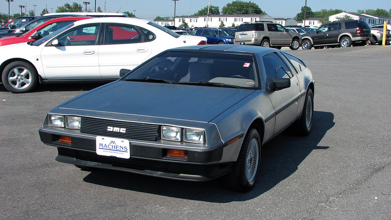 I saw a lot of unusual vehicles traded in during my time as a dealership technician.  On this day, I arrived at work to find a rare 1981 DMC DeLorean sitting in the front line of the Machens truck center.