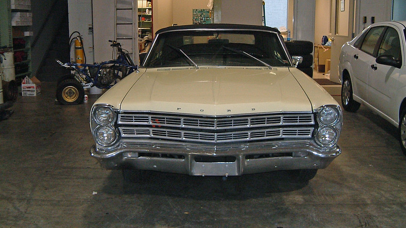 This very nice 1967 Ford Galaxie Convertible was traded in at Joe Machens Ford on November 29, 2004.