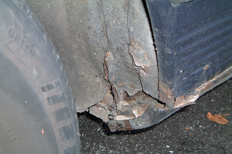 "But the most challenging part of this car was what wasn't so obvious.  During my brief inspection, I noticed a decent amount of rust.  <br /> <br /> Even so, I asked one of the managers about the car.  He basically told me that, ""it is what it is,"" and that I could have it for $750 !"