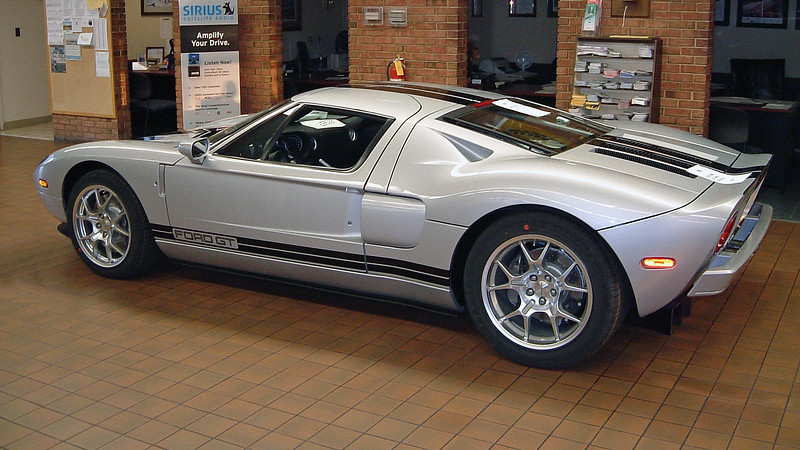 After it arrived, it was prepped, detailed, and then parked in the showroom.