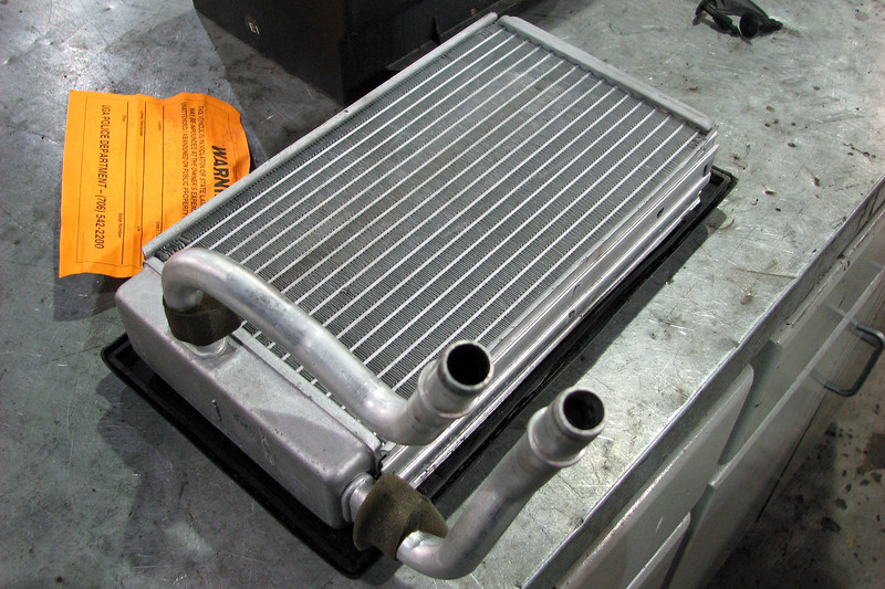 Today's project involved replacing the heater core on a 2006 Ford F150 pickup truck.