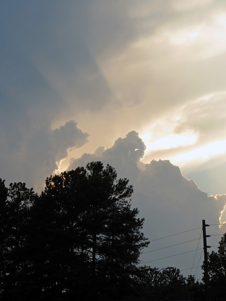 Eventually, the face blended into the surrounding clouds.