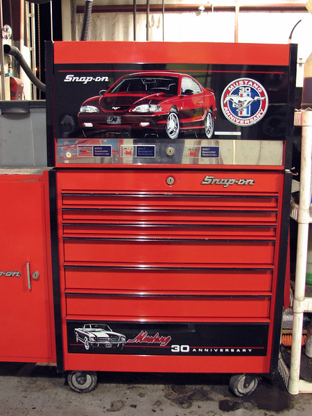 This is Snap-On's Mustang 30th Anniversary set.