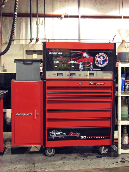 For whatever reason, I decided to snap a few pics of my tool box setup on this evening.