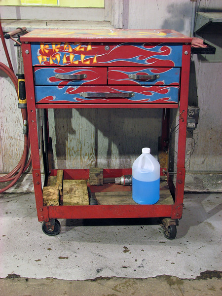 And finally, this is my roll cart that I bought from technician Phil after he started at the Auto Center in 2010.