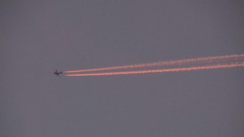 More airplanes.  They were everywhere on this evening.