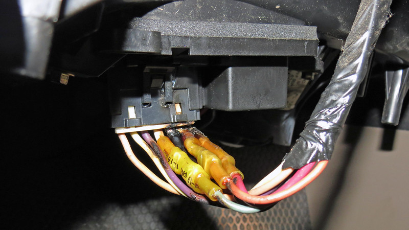 Ford had trouble with blower motor resistors for many years where the current draw produced by the electric blower motor creates enough heat to melt the connector.  That appeared to be the case on this Chevrolet as well.