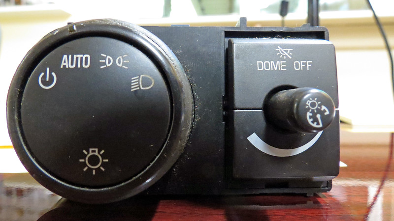 In the old days, ordering something like a headlight switch was a relatively simple matter.  Generally, only one switch was listed for a particular vehicle, regardless of how highly optioned it was.  The modern era, however, is very different.  In the case of this 2008 Chevrolet truck, multiple switches were listed depending on the options installed.