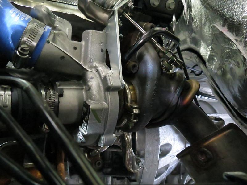 LH turbocharger.