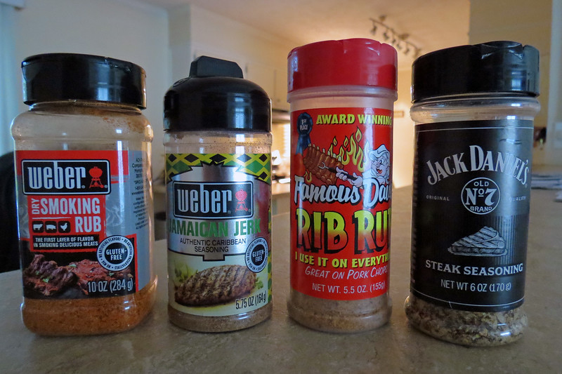 The spices I used for the flat irons in, (I believe) the correct order.