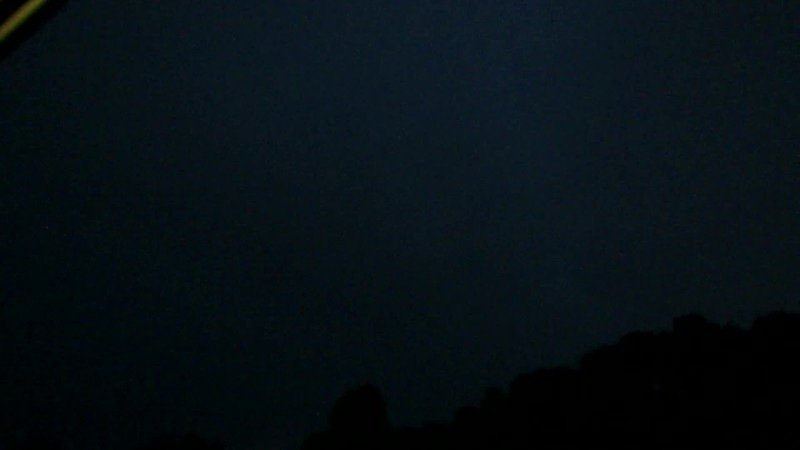 Later that night, Mother Nature put on a great light show for us.  I was able to capture a few great lightning shots.