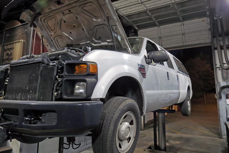 FD906 - 2008 Ford F250, 6.4L diesel.