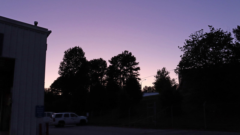 Thanks to this new camera, I've become obsessed with the colors of the evening sky mainly because it does a great job of capturing them.