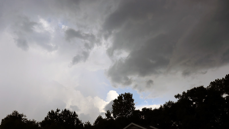 Dark clouds started to make inroads.