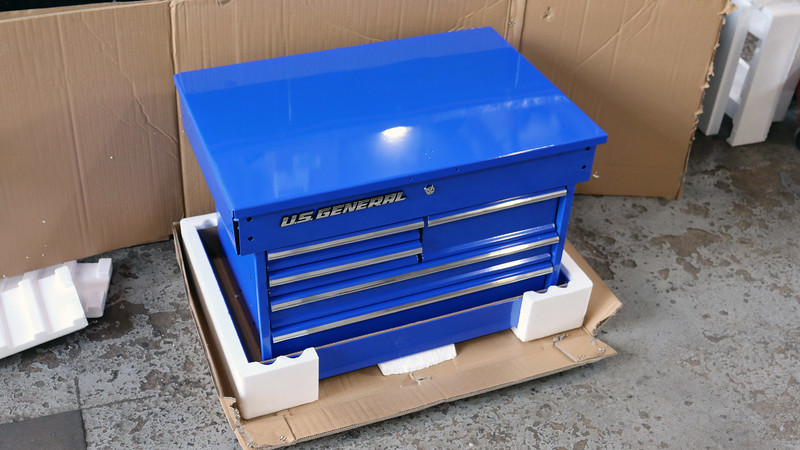 """After a decade of using the """"Krazi Philli"""" cart, I upgraded to a US General from Harbor Freight."""
