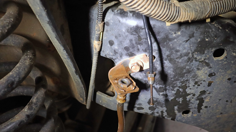This makes no sense !  No responsible technician employed in this field would ever do something like this.  No shop owner would ever allow something like this.  Yet there I was staring at a nail stuffed inside a brake line.