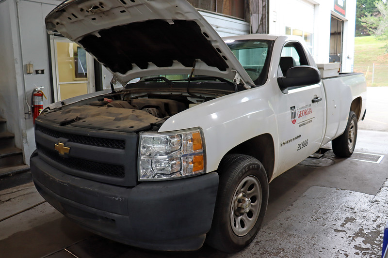 This 2008 Chevy Silverado was dropped off for an SRS light on concern.  I grabbed the scan tool to see what I could find.