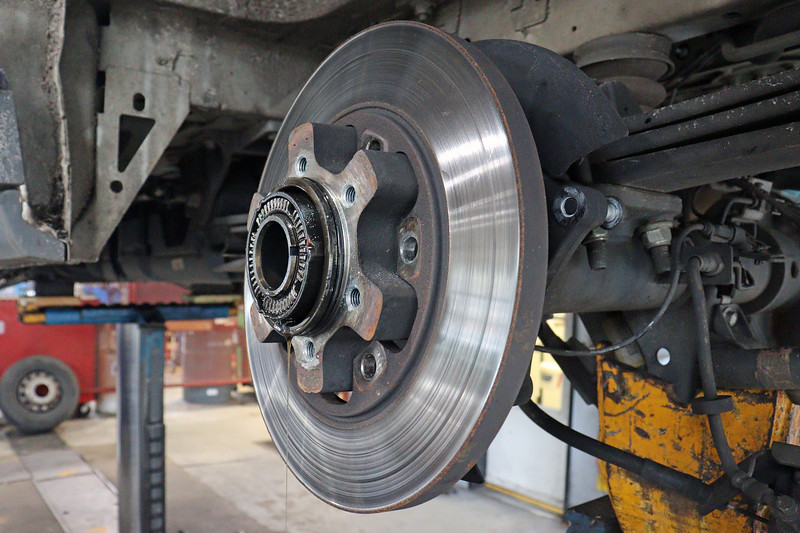 Installation of the new rotor follows those steps in reverse.