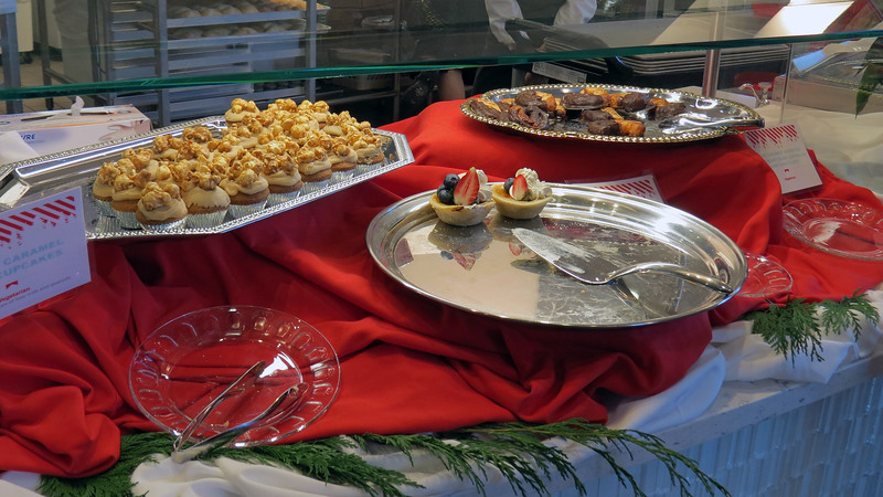 Cupcakes, cookies, pies, pastries, and other assorted artery-clogging goodness.