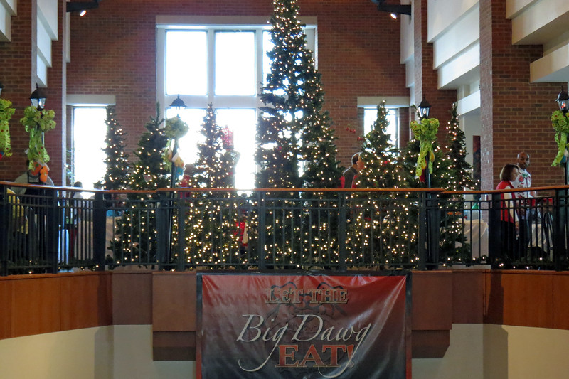 The Village Summit staff went crazy with the Christmas decorations just like they did last year.