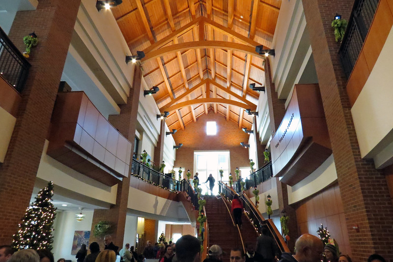 This year's feast was held at the Village Summit inside the Joe Frank Harris Commons on campus.