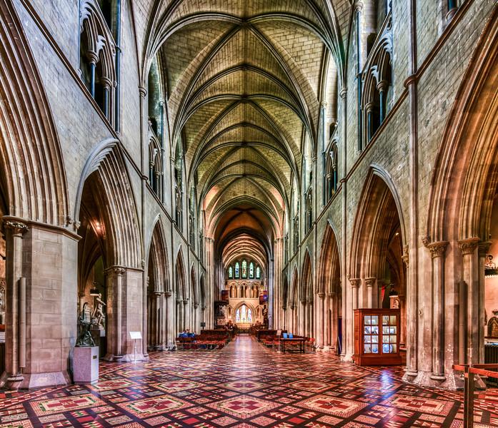 Saint Patricks Cathedral, Dublin, Ireland