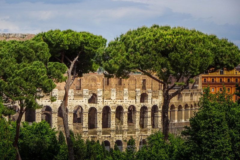 The Rome Coloseum, Rome, Italy.