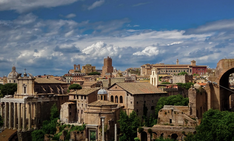 The Ancient City, Rome, Italy.