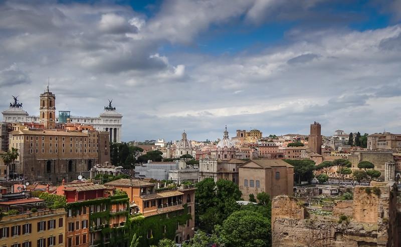 City view, Rome, Italy.