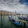 Looking toward St. Mark's Square, Venice, Italy.