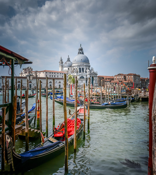 View of St. Mary's Cathedral, Venice, Italy.