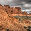 Scene from around Double Arch, Arches National Park, Utah