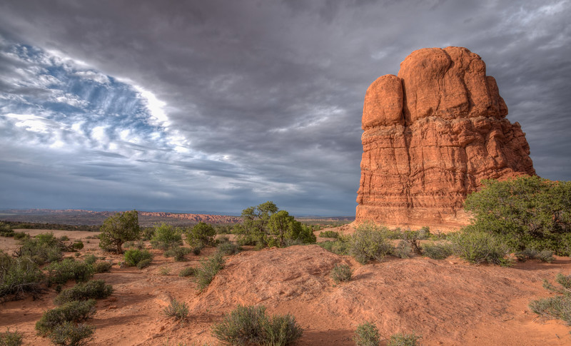Scenic View, Arches National Park, Utah
