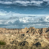 Approaching Rain Storm, Badlands National Park, South Dakota