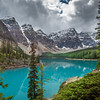 Moraine Lake, Banff National Park, Canada.