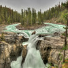 Sunwapta Falls, Banff National Park, Canada.