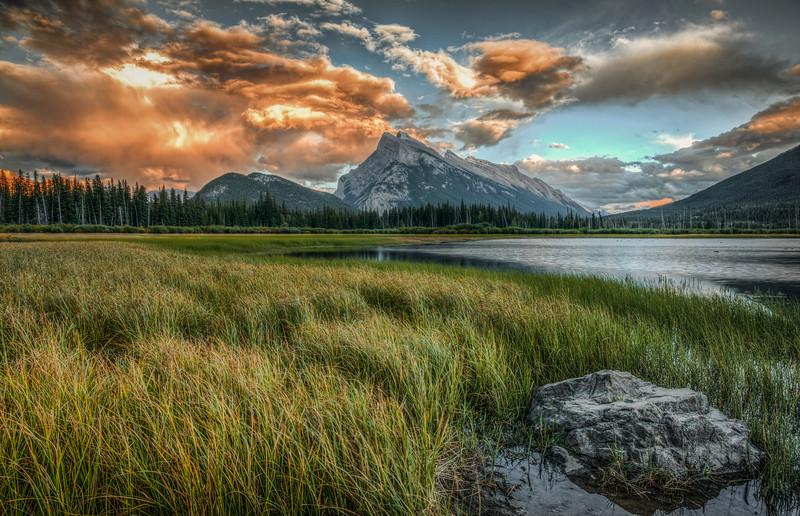 Vermillion Lakes, Banff National Park, Canada.