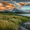 Vermillion Lakes, Banff National Park, Canada.