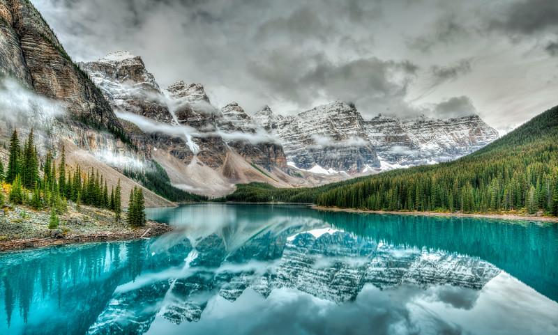 Moraine Lake, Banff National Park, Canada.