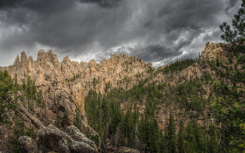 Pinnacles, Custer State Park, South Dakota