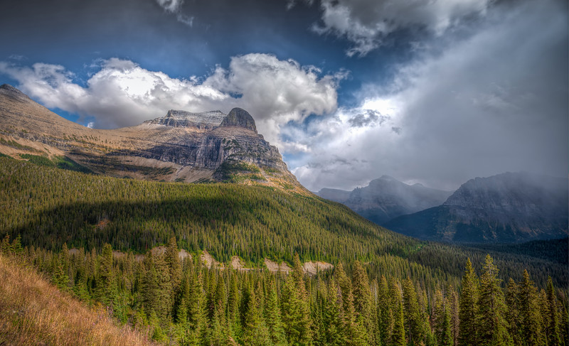Fall in Glacier National Park, Montana.