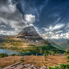 Bearhat Mountain and Hidden Lake, Glacier National Park